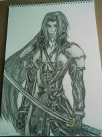 Sephiroth by Laineyfantasy