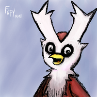 The worst Delibird ever. by FNFY