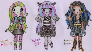 Monster High - New Ghouls by Maddie-Pie