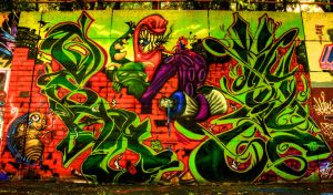 hdr graffiti 2 by Daleyo