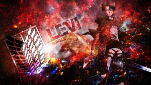 Levi Wallpaper by Dinocojv