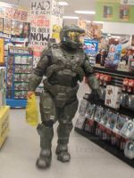 Master Chief - 'Reach' Midnight Launch by Old-Trenchy