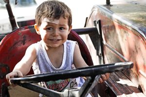 Ahmet Drives a Tractor by dincturk