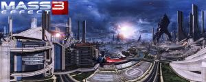 Mass Effect 3 - Attack On Earth II by Riot23