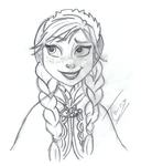 Anna - Sketch - Collab by Pussycat-Puppy