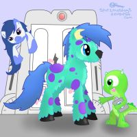 Monsters Inc. MLP by spot1the2dog3