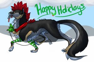 Happy Holidays by Perocore
