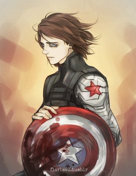 The Winter Soldier by Florbe