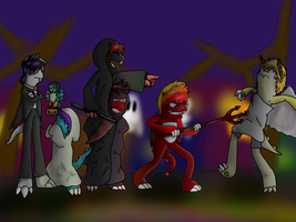 Hallowe'en Project - FINISHED by Kendulun-the-Kihoryu