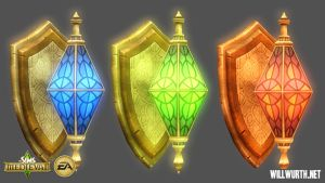 The Sims Medieval - Lights 1 by DeadXIII