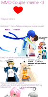 MMD Couple Meme by Calculated-Lie