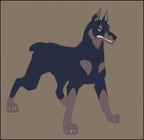 Maurus the Doberman by Ravendyn