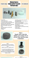 Minature Cupcake and Case Tutorial! by Llama-Lloon