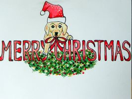 Merry Christmas card by Lou-in-Canada