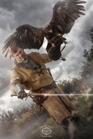 Eagle Warrior by MD-Arts