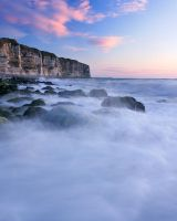 Etretat III by one-shot-below