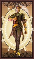 [SFM] Art Nouveau Handsome Jack by kungfubellydancer