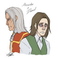 Alexander and Daniel by EmBBu-chan