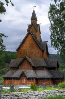 Heddal Stave Church - Front by Tingil