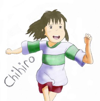 C is for Chihiro Color by haruhi65