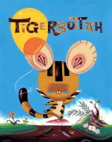 Tigerbuttah Book Cover by Pocketowl