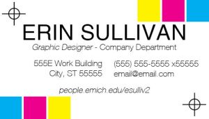 Business Cards by eriney