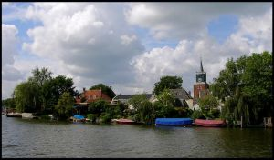 A little village at the Vecht by Esperimenti