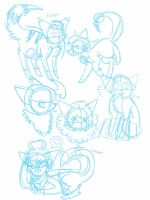doodle dump 2: electric boogaloo by goddess-madoka