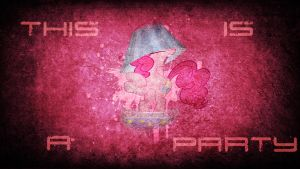 This is a Party - Wallpaper Pinkie Pie by Amoagtasaloquendo