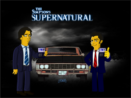 Sammy and Dean with FBI clothes by 7irael