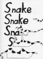 Snake Word Art by cakhost