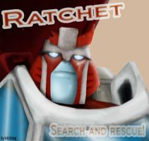 Ratchet - search and rescue by Kritzkreig