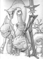 Monsters by mcnostril