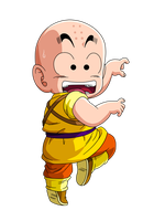 Krillin 2nd movie by Raykugen