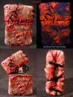Stitches and Staples Zippo by Undead Ed 1 by Undead-Art