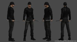 Netflix Daredevil - Charlie Cox custom 3d model by ShaunsArtHouse