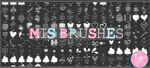 Todos mis brushes by Isfe