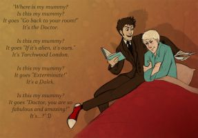 Doctor Who: Where's My Mummy by Silarcta