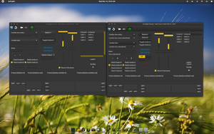 Dark-Grey-n-Gold GTK Updated by CraazyT