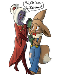 Boom n Ventisca dance lessons by Bread-Crumbz