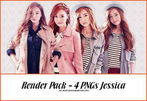 [Render Pack] Jessica SNSD in SF - 4 PNGs by jemmy2000