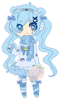 Custom Cubchoo Gijinka Adopt: xNehko by StrawberriesJam