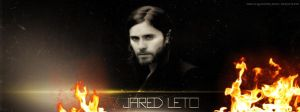 Jared Leto Fire B Fb Cover by lovelives4ever