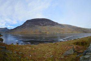 Panoramic Llyn Ogwen by Red-Smurfette