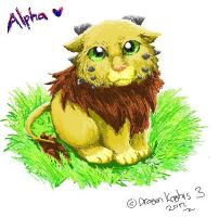 Alpha with Paint by laliluleloha