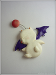 Moogle magnet (Final Fantasy) by Elaiss-in-iceland