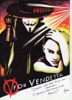 V for vendetta by ingridlaka