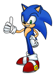 Picture of sonic by supersilver27