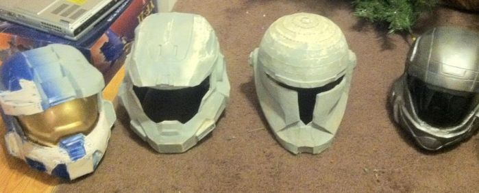 Helmets by GrimCW