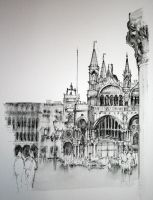 St Mark's, Venice by rojobe